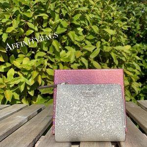 Boxed SM l-zip bifold wallet joeley Kate Spade NWT